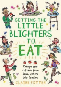 Getting the little blighers to eat book cover
