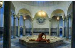A visit to a Turkish bath with my 3-year-old daughter in Istanbul